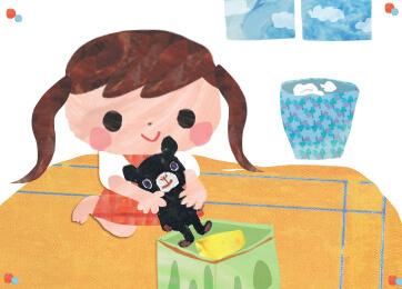 子供に自分の部屋のおもちゃを片付けをさせる!プチアイディア!