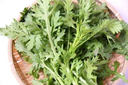 春菊の栄養と効果にびっくり!風邪予防と美容の両方を簡単にゲット
