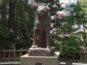 忠犬ハチ公の銅像