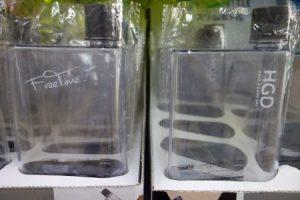 ダイソーのスリムボトルはの2種類
