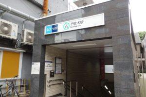 谷中銀座の最寄り駅の千駄木駅
