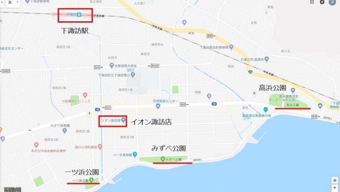 諏訪湖花火大会の駐車場と服装とおすすめな穴場