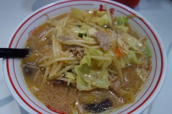蒙古タンメン中本の味噌タンメン